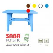 میز مستطیل  پلاستیکی   کد 207